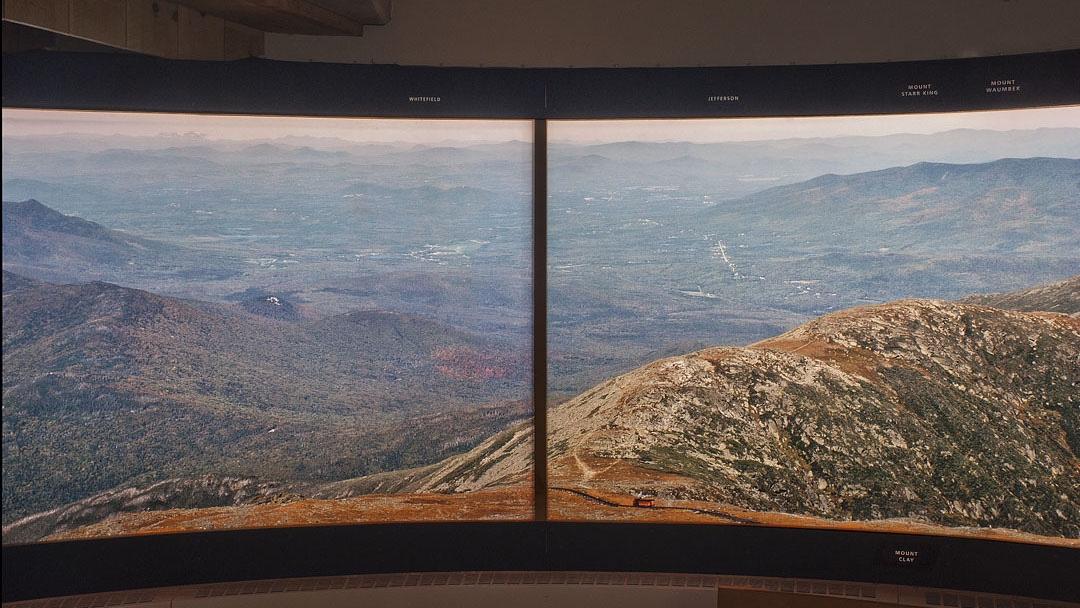 Mt Washington Observatory Photo Mural Bruce Kennett Studio